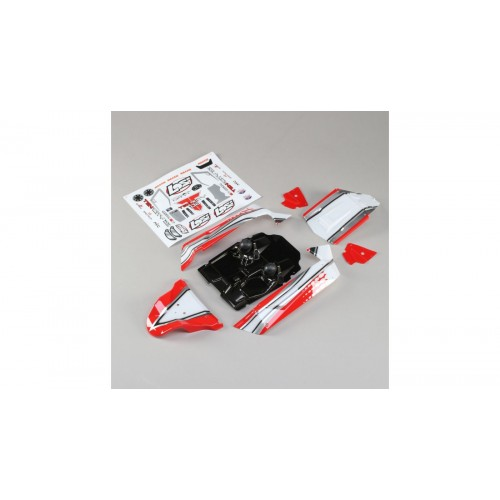 Losi 1/10 Painted Body Set,...
