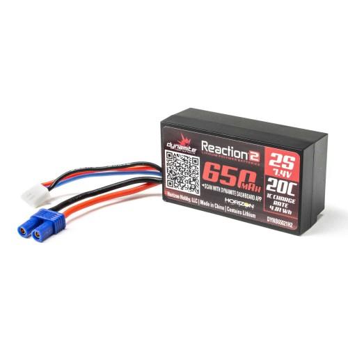 7.4V 650mAh 2S 20C Hardcase...