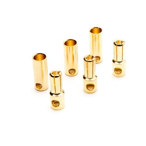 Connector: Gold Bullet Set,...
