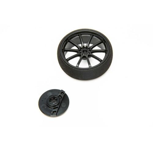 Large Wheel, Black: DX5...