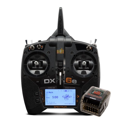 DX6e 6CH System with AR620...