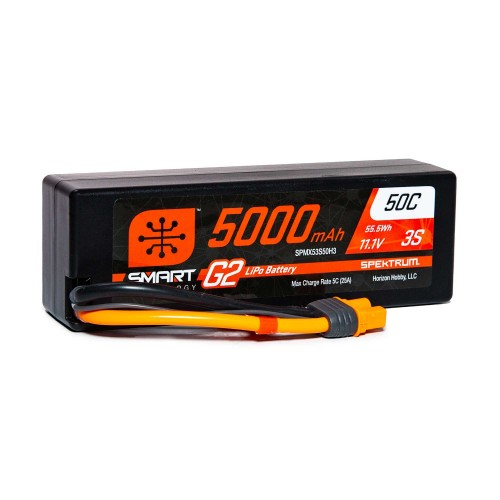 11.1V 5000mAh 3S 50C Smart...