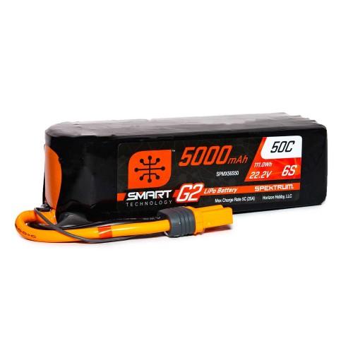 22.2V 5000mAh 6S 50C Smart...