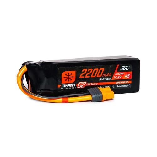 14.8V 2200mAh 4S 30C Smart...
