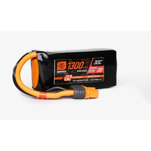 11.1V 1300mAh 3S 30C Smart...