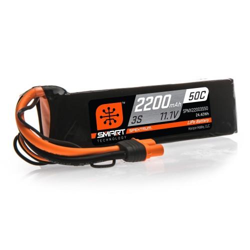 11.1V 2200mAh 3S 50C Smart...