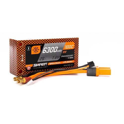 7.6V 6300mAh 2S 100C Smart...