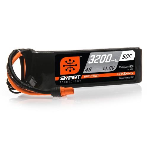 14.8V 3200mAh 4S 50C Smart...