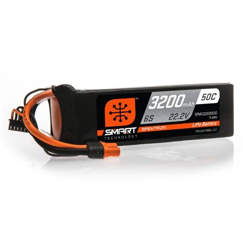 22.2V 3200mAh 6S 50C Smart...