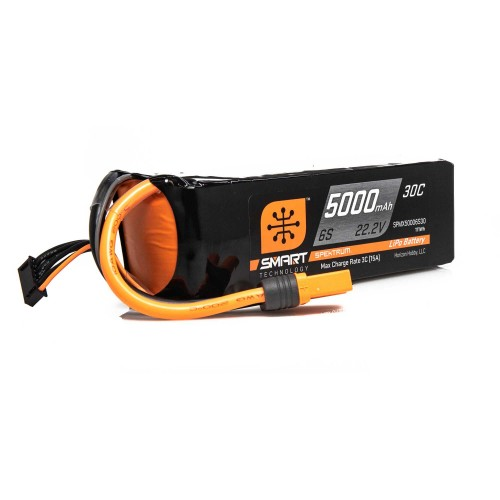 22.2V 5000mAh 6S 30C Smart...