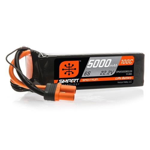 22.2V 5000mAh 6S 100C Smart...