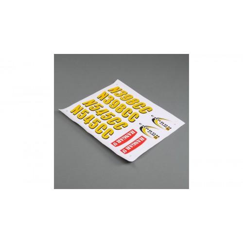Hangar 9 Decal Sheet:...